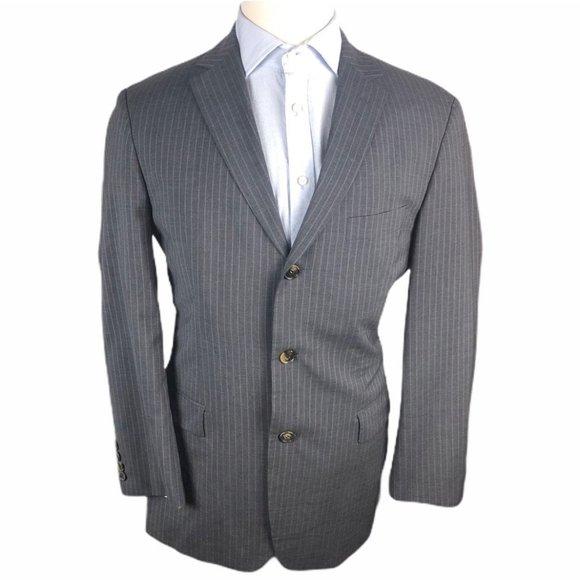 Hugo Boss Other - Hugo Boss Wool Blazer 40R Gray Blazer Jacket Coat